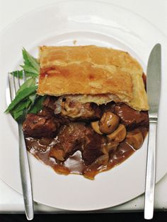 Steak and Kidney Pie: We admit, the name might throw you off -- but one bite of this dish and you'll think you're in heaven! It's hearty and full of flavor.