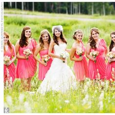 05272012 – Pink Bridesmaid Dresses