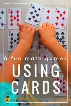 Are you after some more fun math games that you can use with your students? Maybe you're teaching your kids about problem solving or you would like to develop their number work. I find math card games are a fantastic way for kids to practice and consolidate math skills, but in a non-threatening and highly motivational way. If you're looking for some easy card games to provide consolidation of a concept you have already taught, I'm sharing my top 6 fun math games using cards…