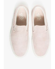 Vans Classic Slip-on Iced Pink Croc in Pink (iced pink)