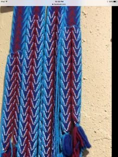 Finger Weaving, Weaving Yarn, Trekking, Sash, Belts, Hacks, Dance, Tejidos, Clothing