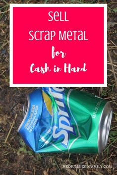 Sell Scrap Metal for Cash in Hand. You can feel good about recycling metal while making some extra money at the same time. Scrap Recycling, Recycle Cans, Money Saving Mom, Make Money Blogging, Ways To Save Money, How To Make Money, 100 Life Hacks, Money Sign, Money Affirmations