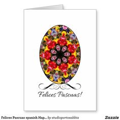 Felices Pascuas spanish Happy Easter Greeting Card