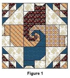 Image result for Twisted Cat Tails Quilt Pattern