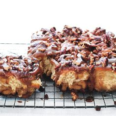 BEST TOPPING and pan coating :The Ultimate Sticky Buns