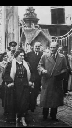 Atatürk ve makbule Atadan 09.02.1936