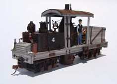 MODEL RAILROADING with   LAURIE