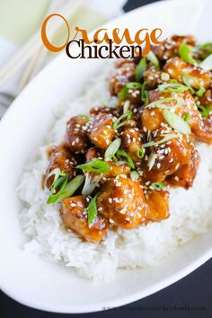 An amazing recipe for Orange Chicken you can make at home!  So much better than take out!  |  mynameissnickerdoodle.com