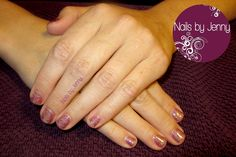 Samuri and Vegas Nights - Gelish Manicure