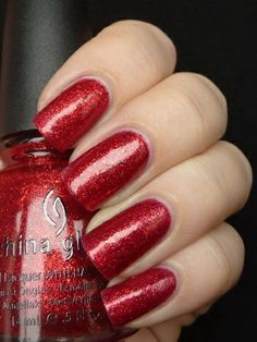 China Glaze Ring In The Red