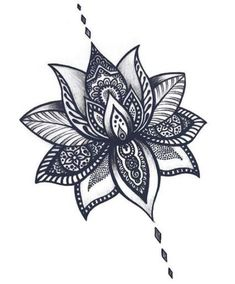 Easy to draw lotus flower cool flower drawing lotus flower tattoos tattoo designs lotus flower tattoo . Trendy Tattoos, New Tattoos, Body Art Tattoos, Sleeve Tattoos, Tattoos For Women, Spine Tattoos, Lotus Flower Tattoo Design, Lotus Flower Mandala, Mandala Tattoo Design