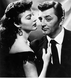 Ava Gardner y Robert Mitchum in My Forbidden Past 1951