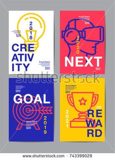 Find Annual Report 2018 Future Business Template stock images in HD and millions of other royalty-free stock photos, illustrations and vectors in the Shutterstock collection. Layout Design, Web Design, Flyer Design, Creative Design, Graphic Design Posters, Typography Design, Flat Design Poster, Noli Me Tangere, Folders