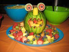 Watermelon Monster fruit bowl. I love it!!!