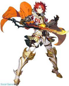 Blaze Dragonfire) former Prince of Emora, sword and shield of emora