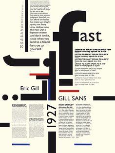 Des affiches de présentation de caractères. | typomanie*