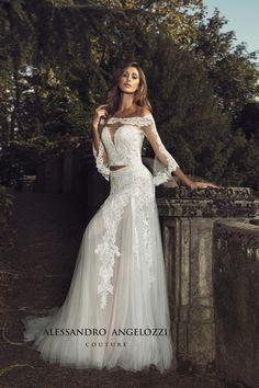 Weddings & Events Expressive Miaoduo Long Sleeve Lace Appliques Low Back A-line Vestido De Noiva Wedding Dresses Vestido De Noiva Abito Da Sposa Custom Made