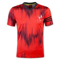adidas Youth Messi AOP T-Shirt 16 (Red) - WorldSoccerShop.com