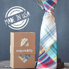 Tadpole and Lily offers stylish headbands for girls and handsome ties for boys. www.tadpoleandlily.com
