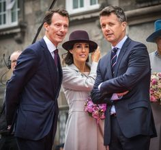 The Danish Royal family Attends the Opening of the Danish parliament at Christiansborg Castle, October 6, 2015