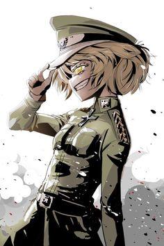 saga of tanya the evil Part 2 - - Anime Image Manga Art, Anime Art, Guerra Anime, Tanya Degurechaff, Character Art, Character Design, Evil Smile, Tanya The Evil, Anime Military