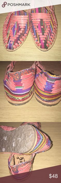 New Mexican Huaraches in size 8 New Handmade Mexican Huaraches.  100% leather.  Size 8. Shoes