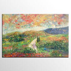 Canvas Painting Landscape Painting Large Canvas Art Rustic
