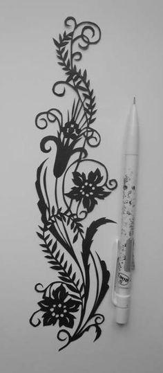 Spirale de fleurs