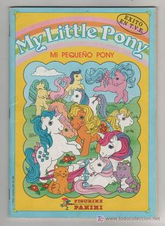 Álbum de cromos de Mi Pequeño Pony