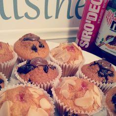 Muffins framboises et nutella