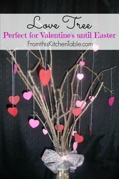 Love Tree - Perfect idea to use in February up to Easter. Easy, memorable and affordable!