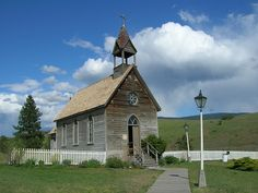 O'Keefe Ranch Church, Vernon B. Went to a weeping and this is the church. So beautiful. Historical Pictures, Historical Sites, Vernon Bc, Old Churches, Christian Church, Cathedrals, British Columbia, Cool Places To Visit, Worship