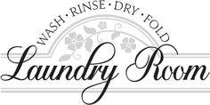 For the Laundry room so people will quit thinking it is the bathroom. Laundry Room Doors, Silhouette Projects, First Home, Wall Design, Vinyl Decals, Your Design, Things To Think About, Fun, Crafts