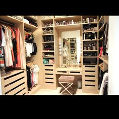 The coolest closet ever!