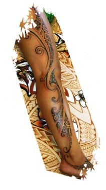Hawaiian tattoo - awesome! #polynesian #tattoo