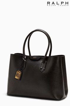 Ralph Lauren Black Leather Per Bag Uk Online