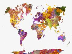 watercolor effect,ink ink,colorful map,color map,seven continents map,world map,beautiful,watercolor,world,map,design,effect,ink,colorful,color,seven,continents,beautiful clipart,watercolor clipart,world clipart,map clipart,design clipart