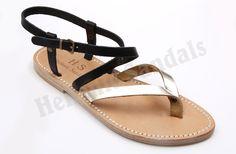 #handmade #greek #leather #sandals #leather_sole #Hellenic_Sandals #H_S  http://www.hellenicsandals.gr/dermatina-gynaikeia-sandalia%20/kalokairino-sandali