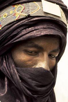 Touareg . Gao. Mali  Photo by Georges Courreges