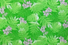 polyester and cotton fabric. Colors and shapes of this picture may vary from the original fabric. Hawaiian Print, Playsuit, Cotton Fabric, Shapes, Green, Pictures, Color, Jumpsuits, Colour