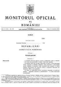 Constituția României - SetThings