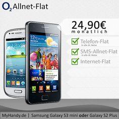 o2 Real Allnet Flat mit Samsung Galaxy S3 mini effektiv unter 15,-€ im Monat
