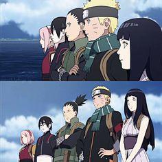 Team NaruHina and Shikamaru Naruto And Sasuke, Anime Naruto, Manga Anime, Naruto The Last, Naruto The Movie, Naruto E Boruto, Dc Anime, Kakashi Sensei, Naruto Funny