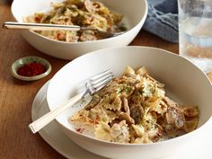 From the Pantry: Creamy Mushroom Pasta Recipe : Food Network Kitchen : Food Network - FoodNetwork.com