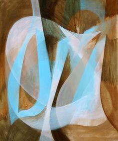 Untitled. Acrylic on canvas. Painting by Harry Wedzinga