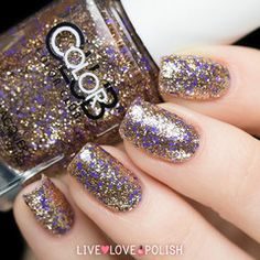 Swatch of Color Club With Love Nail Polish (Celebration Collection)