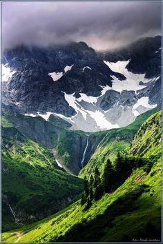 Braunarlspitze, Vorarlberg, Österreich