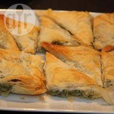 Recipe Picture:Spinach and Ricotta Triangles