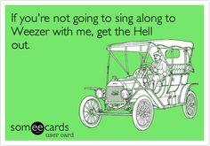 Free and Funny Cry For Help Ecard: Instead of a Winter Storm Warning there should be a Stupid People Driving Too Fast in Snow Warning. Create and send your own custom Cry For Help ecard. Silly Me, Weezer, Stupid People, I Am Bad, E Cards, Pop, Someecards, True Stories, I Laughed