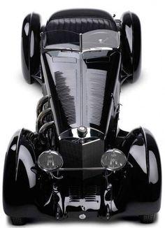 """Collectionde voitures de RalphLauren: Mercedes-BenzSSK""""Comte Trossi"""" - 1930"""